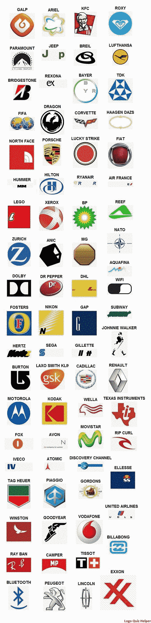logo quiz answers level 4